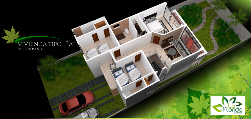 Casa antares o marbella residencial la florida - Tipos de tejados para casas ...